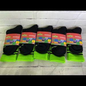Bombas Sesame Street Socks Oscar Grouch M 5 pairs